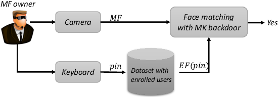 Figure 4 for A Master Key Backdoor for Universal Impersonation Attack against DNN-based Face Verification