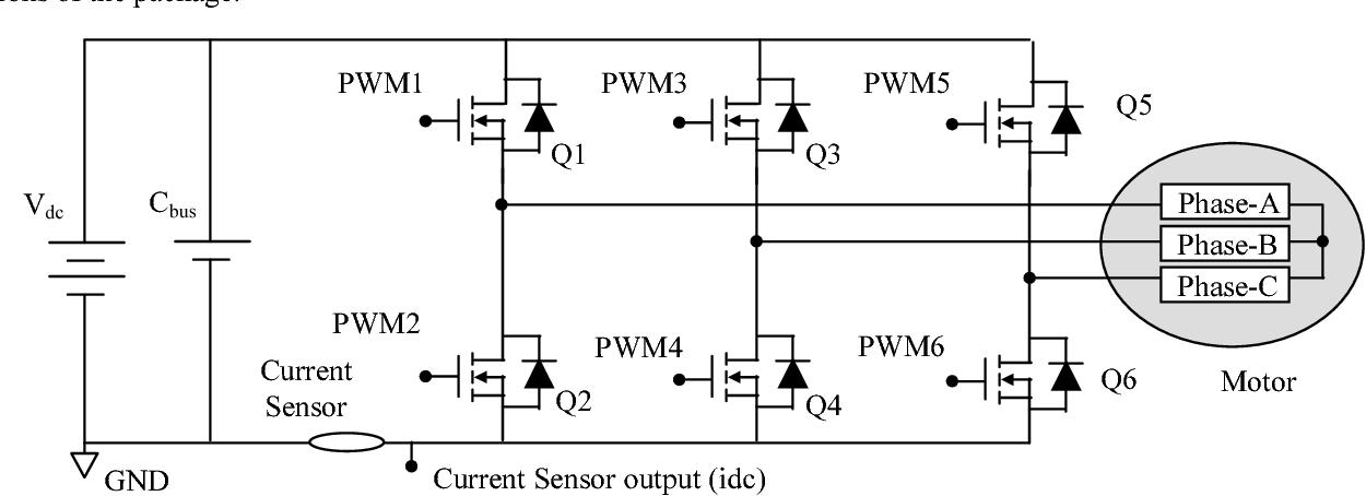 Effect of BLDC motor commutation schemes on inverter capacitor size