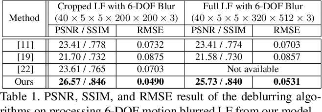 Figure 2 for Fast and Full-Resolution Light Field Deblurring using a Deep Neural Network