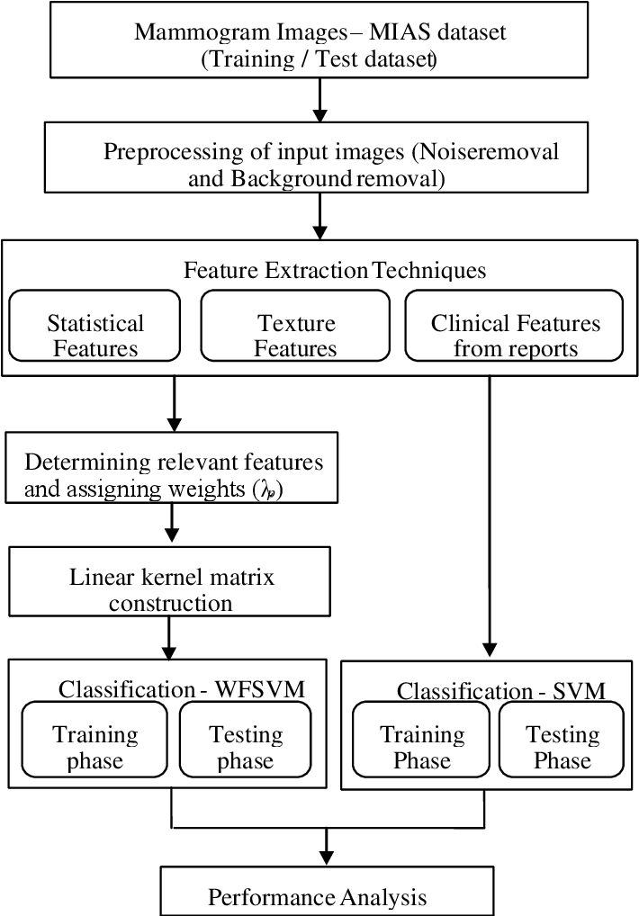 Figure 1 for Features based Mammogram Image Classification using Weighted Feature Support Vector Machine