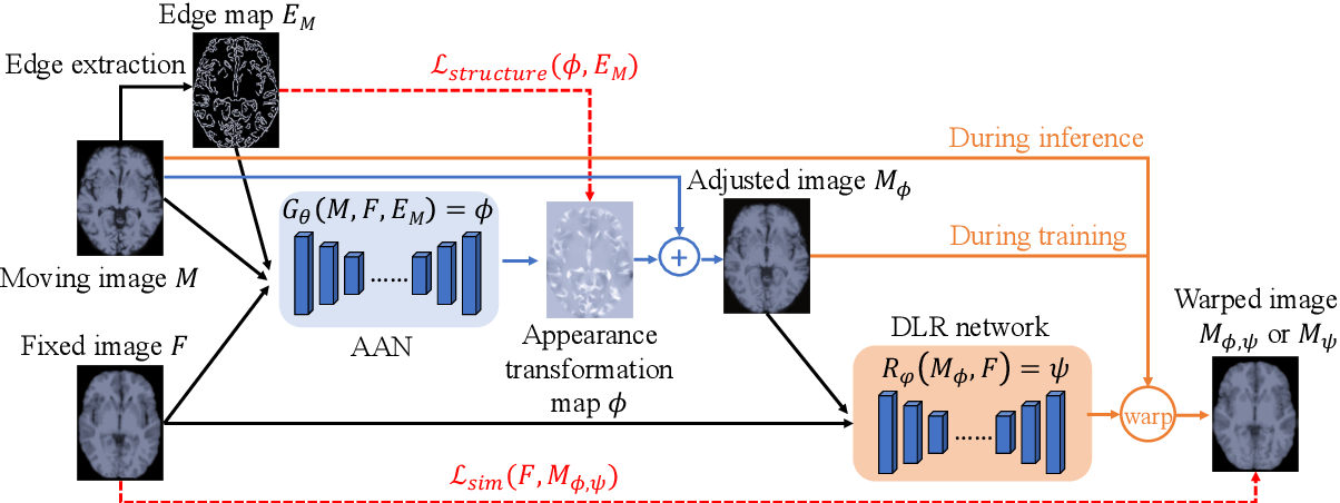 Figure 2 for Enhancing Medical Image Registration via Appearance Adjustment Networks
