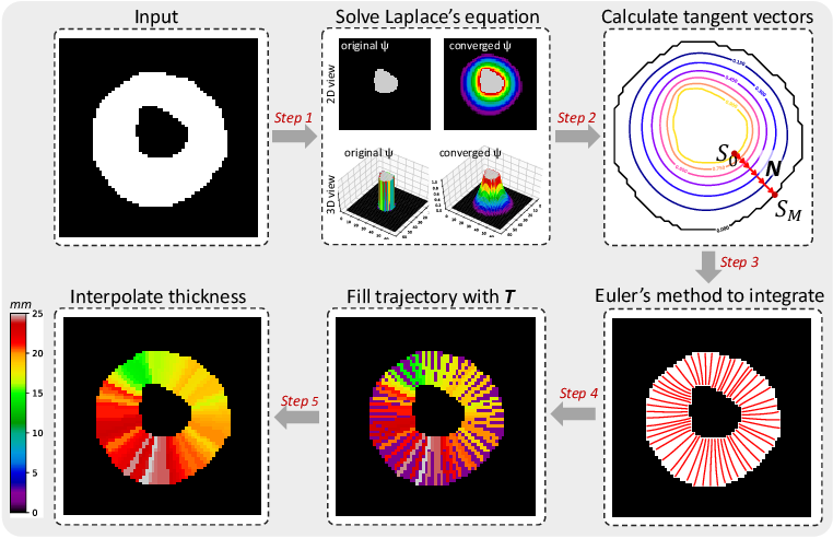 Figure 3 for Measure Anatomical Thickness from Cardiac MRI with Deep Neural Networks