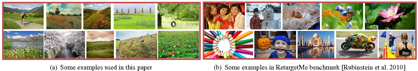 Figure 2 for Image Retargeting by Content-Aware Synthesis