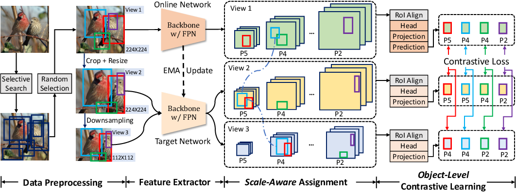 Figure 1 for Aligning Pretraining for Detection via Object-Level Contrastive Learning