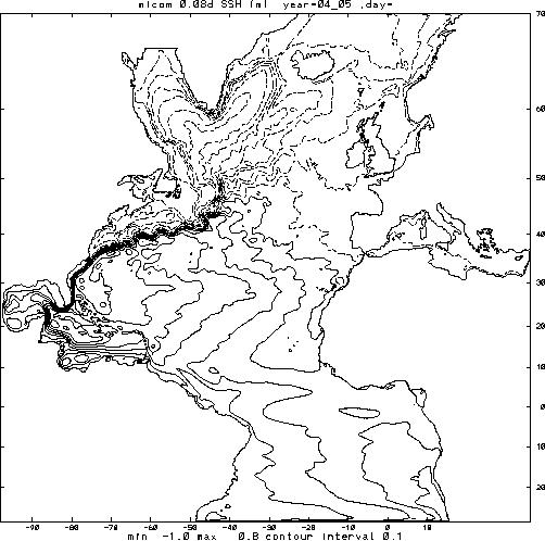 Gulf Stream Path