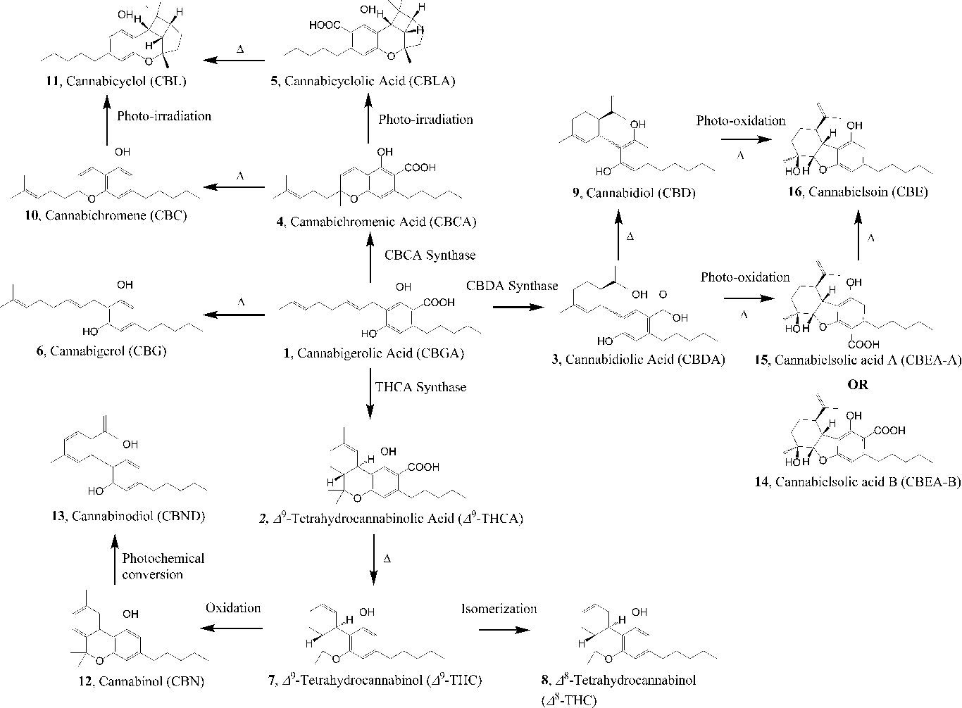 chemical profiling of medical cannabis extracts semantic scholar