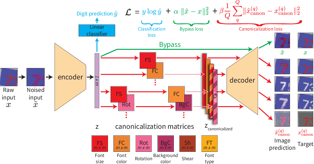 Figure 1 for Representation Learning Through Latent Canonicalizations