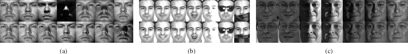 Figure 3 for Modal Regression based Atomic Representation for Robust Face Recognition