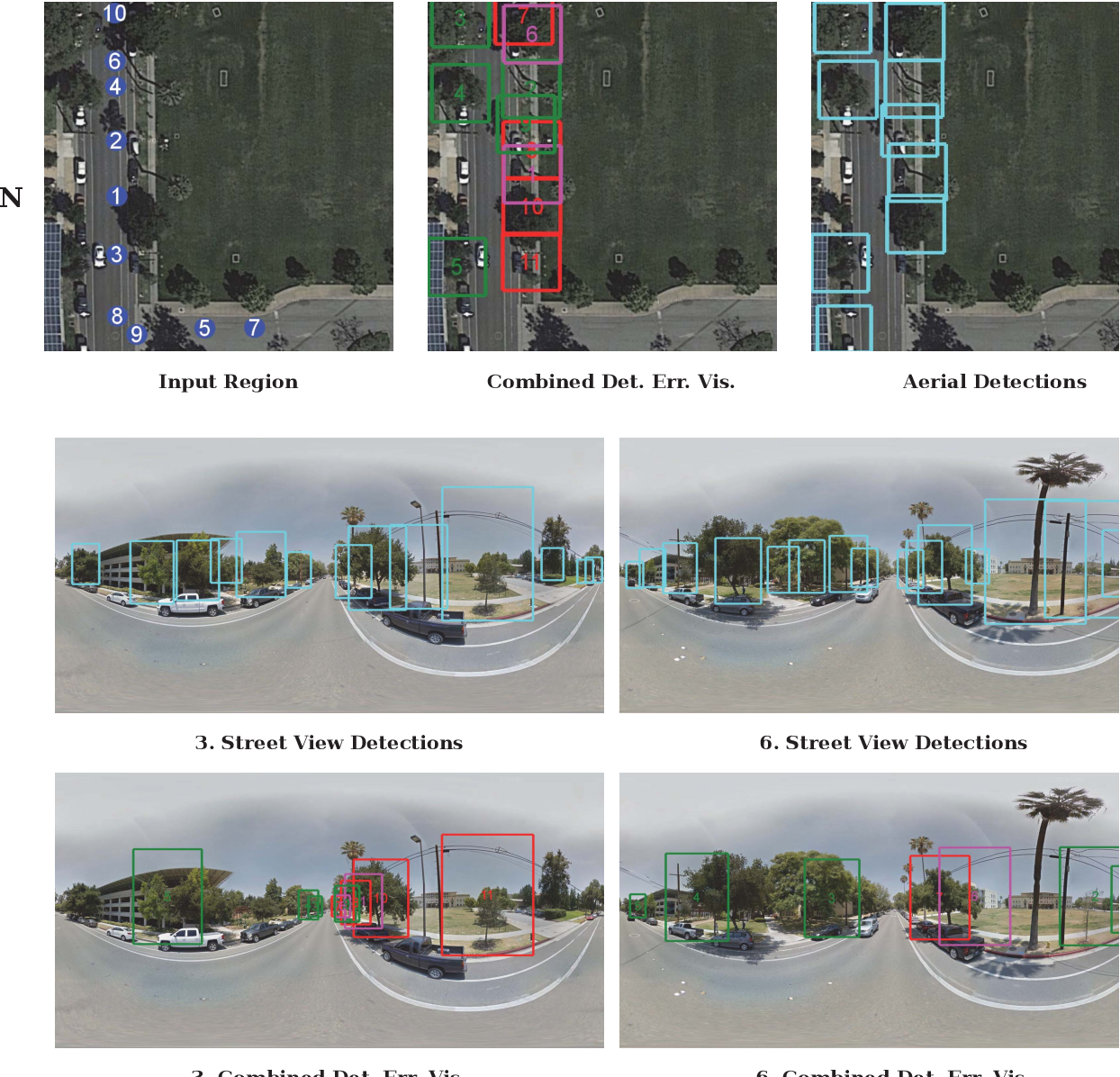 Figure 4 for From Google Maps to a Fine-Grained Catalog of Street trees
