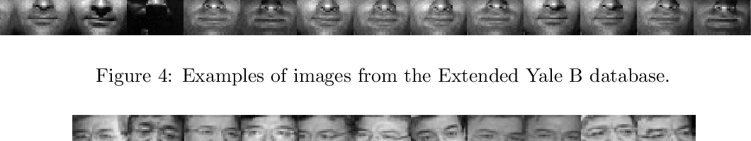 Figure 4 for Non-negative representation based discriminative dictionary learning for face recognition