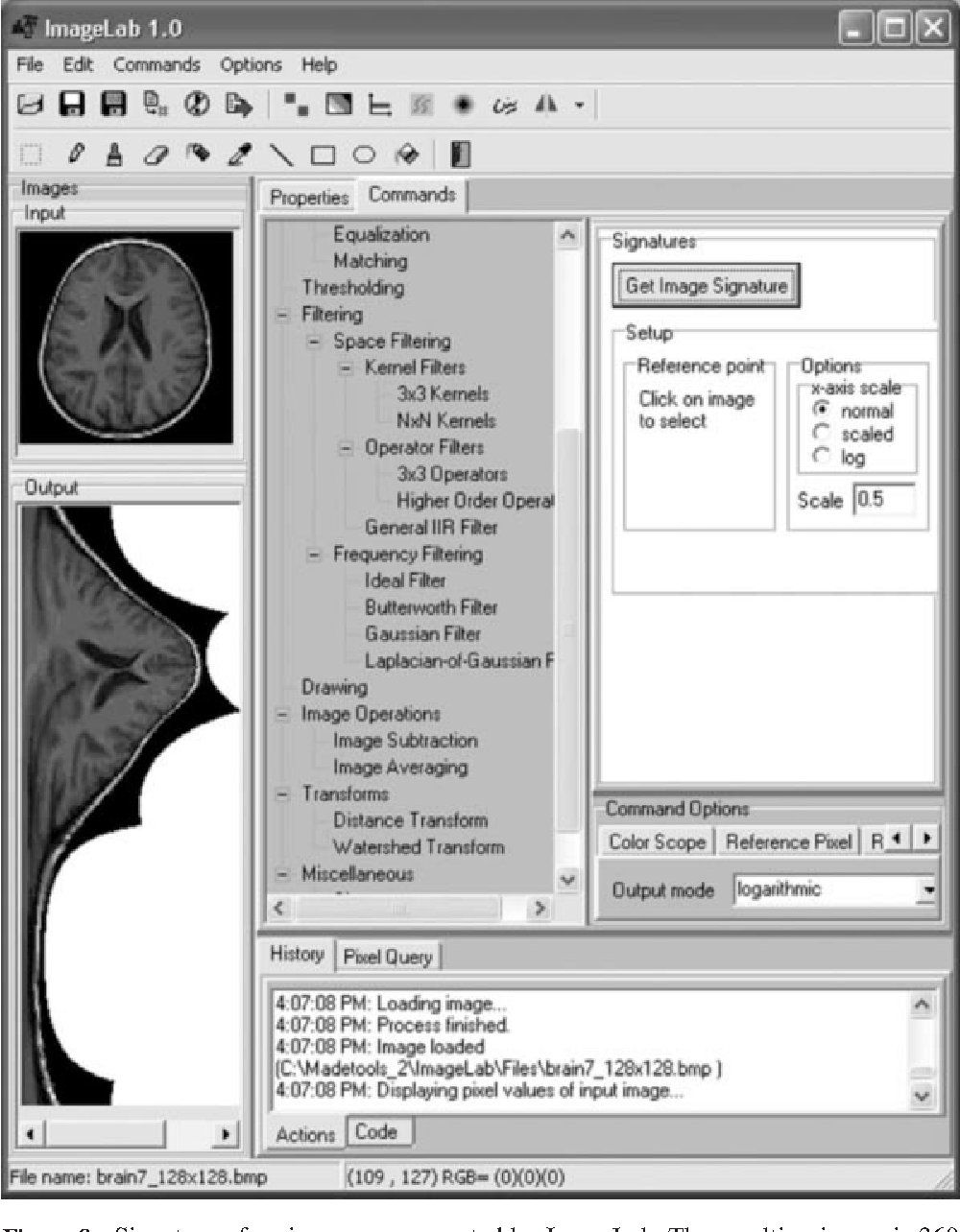 A Windows-based interface for teaching image processing - Semantic