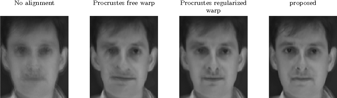 Figure 4 for Most Likely Separation of Intensity and Warping Effects in Image Registration