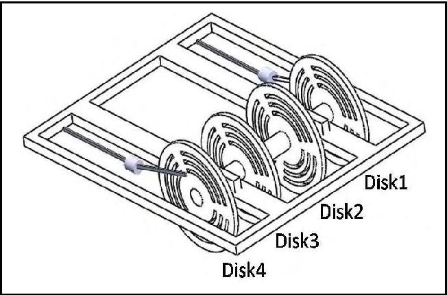 schematic diagram of the considered crank-slider mechanism
