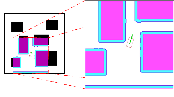 Figure 2 for Dynamically Constrained Motion Planning Networks for Non-Holonomic Robots