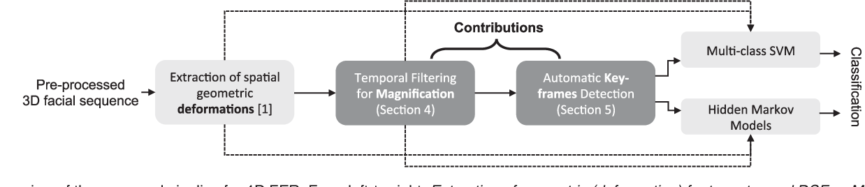 Figure 1 for Magnifying Subtle Facial Motions for Effective 4D Expression Recognition