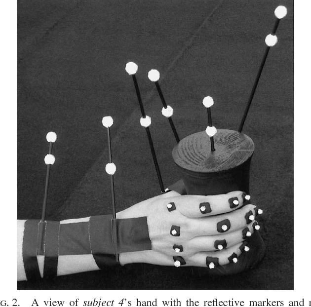 Figure 2 from Hand synergies during reach-to-grasp