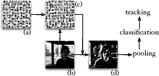 Figure 1 for Online Unsupervised Feature Learning for Visual Tracking