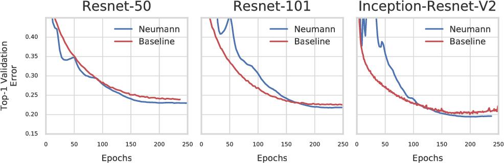 Figure 3 for Neumann Optimizer: A Practical Optimization Algorithm for Deep Neural Networks