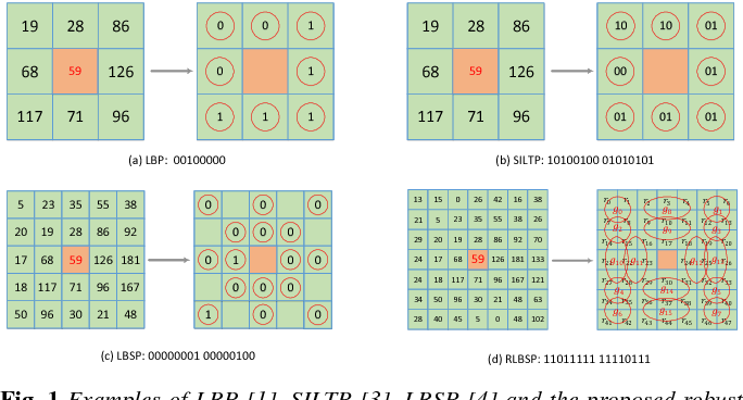 Figure 1 for A Robust Local Binary Similarity Pattern for Foreground Object Detection