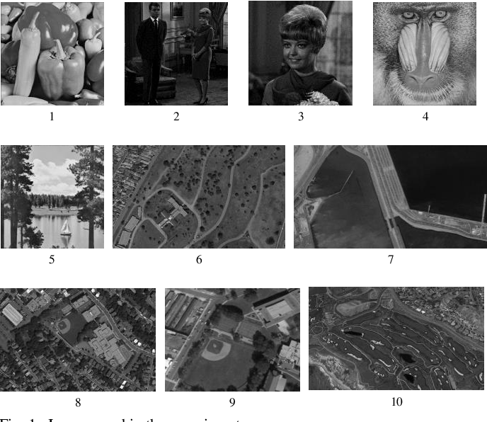 Figure 1 for Multilevel Image Thresholding Using a Fully Informed Cuckoo Search Algorithm