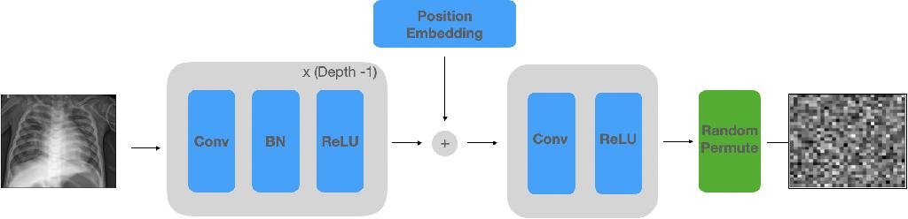 Figure 3 for NeuraCrypt: Hiding Private Health Data via Random Neural Networks for Public Training