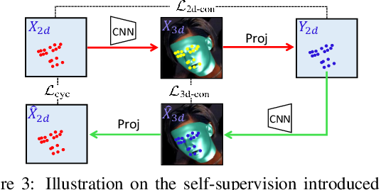 Figure 4 for Joint 3D Face Reconstruction and Dense Face Alignment from A Single Image with 2D-Assisted Self-Supervised Learning