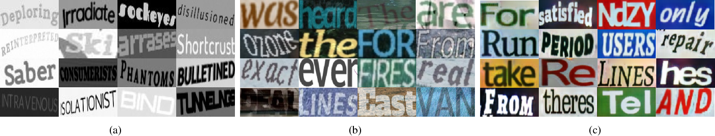 Figure 3 for Generating Text Sequence Images for Recognition