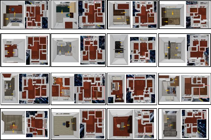 Figure 1 for Adversarial Model for Rotated Indoor Scenes Planning