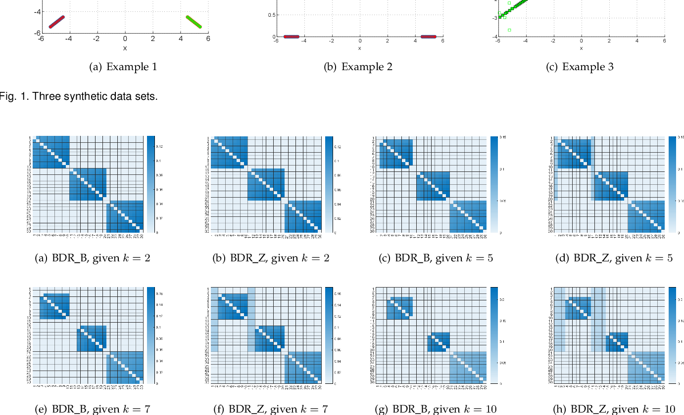 Figure 4 for Convex Subspace Clustering by Adaptive Block Diagonal Representation