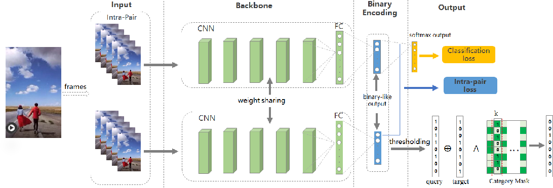 Figure 1 for Deep Hashing with Category Mask for Fast Video Retrieval