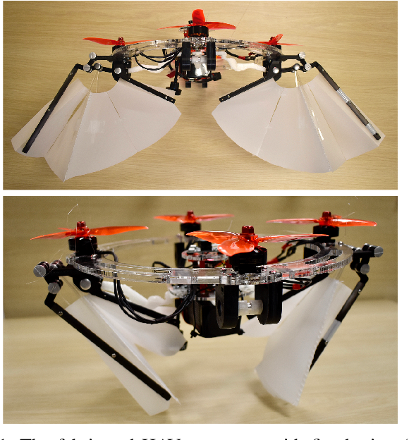Figure 1 for Soft Hybrid Aerial Vehicle via Bistable Mechanism