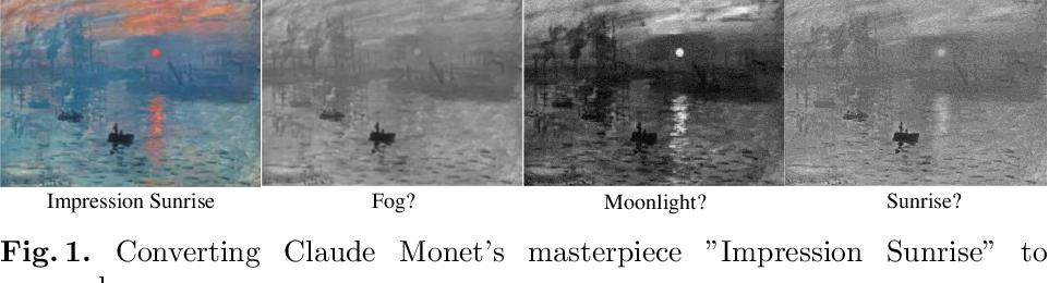 Figure 1 for Perceptually Consistent Color-to-Gray Image Conversion