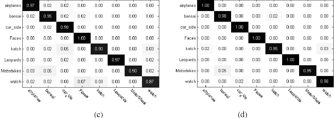 Figure 4 for Image classification based on support vector machine and the fusion of complementary features