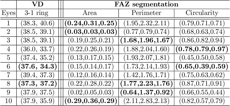 Figure 2 for Blood vessel segmentation in en-face OCTA images: a frequency based method