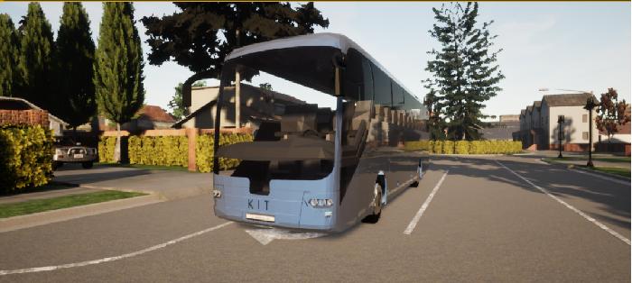 Figure 1 for KIT Bus: A Shuttle Model for CARLA Simulator