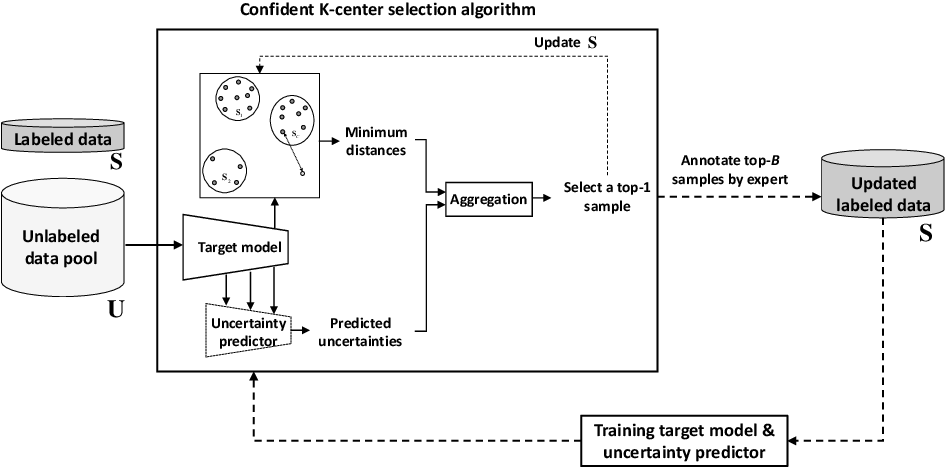 Figure 1 for Confident Coreset for Active Learning in Medical Image Analysis