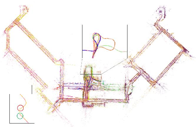 Figure 4 for A Collaborative Visual SLAM Framework for Service Robots