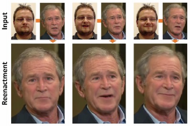 Figure 1 for Detecting Face2Face Facial Reenactment in Videos