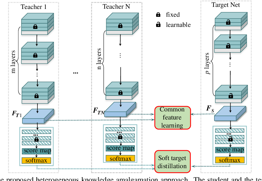 Figure 1 for Knowledge Amalgamation from Heterogeneous Networks by Common Feature Learning