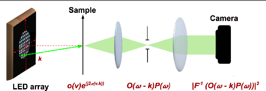 Figure 1 for Phase retrieval for Fourier Ptychography under varying amount of measurements