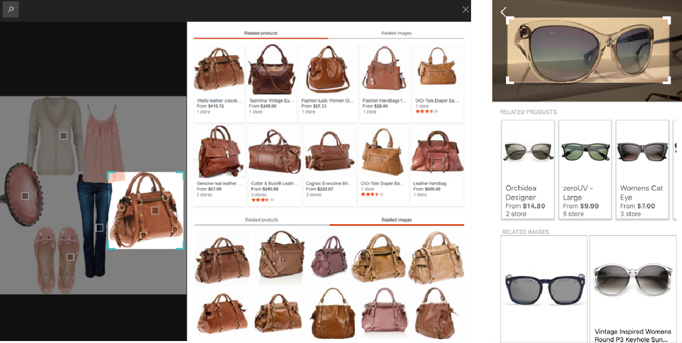 Figure 1 for Web-Scale Responsive Visual Search at Bing