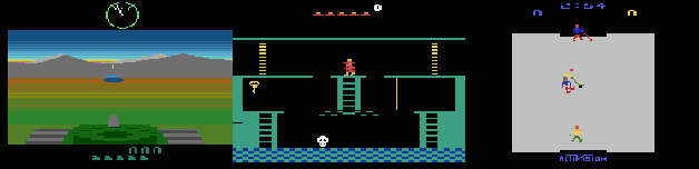Figure 1 for State of the Art Control of Atari Games Using Shallow Reinforcement Learning