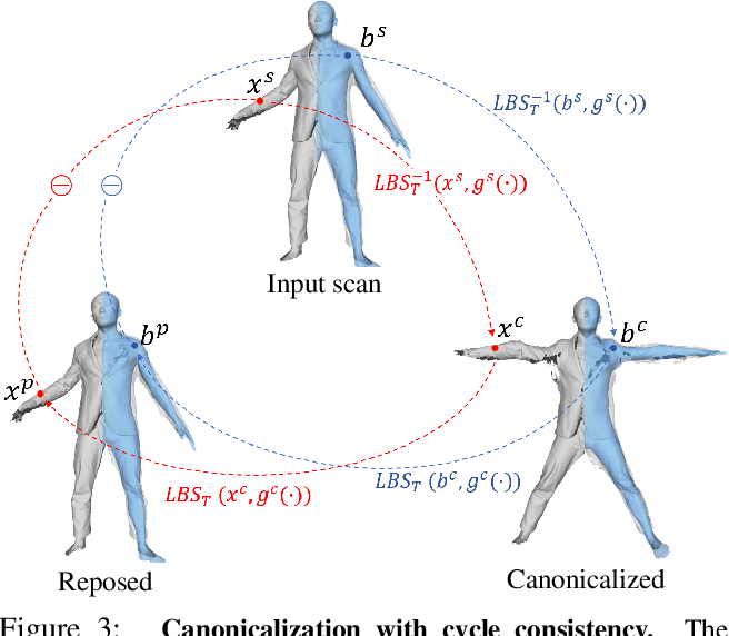 Figure 4 for SCANimate: Weakly Supervised Learning of Skinned Clothed Avatar Networks