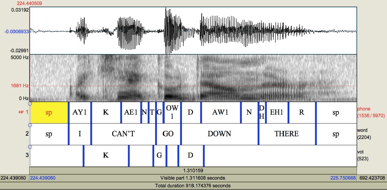 Figure 4 for Corpus Phonetics Tutorial