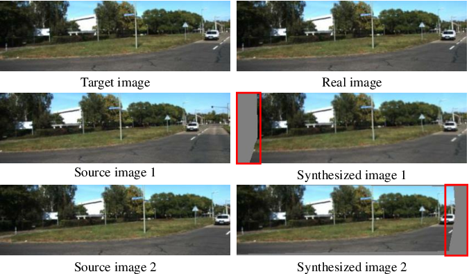 Figure 2 for Masked GANs for Unsupervised Depth and Pose Prediction with Scale Consistency