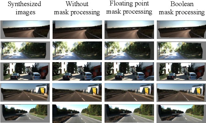Figure 4 for Masked GANs for Unsupervised Depth and Pose Prediction with Scale Consistency
