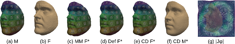 Figure 2 for Unsupervised Diffeomorphic Surface Registration and Non-Linear Modelling
