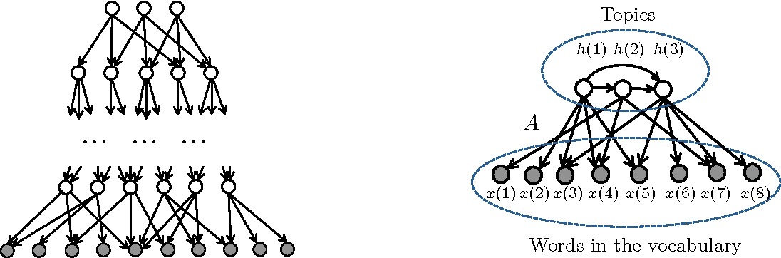 Figure 1 for Learning Topic Models and Latent Bayesian Networks Under Expansion Constraints