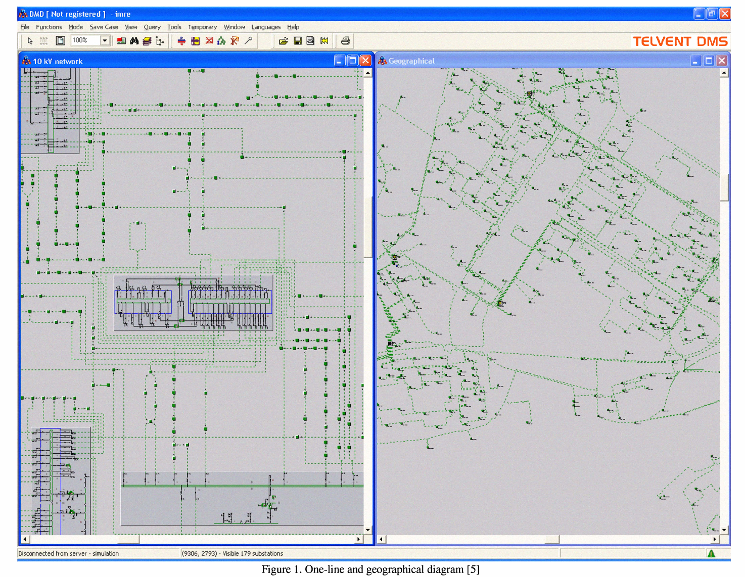 Algorithms in electric power system one-line diagram creation ...