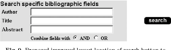 Fig. 9. Proposed improved layout location of search button to associate it with the entire search function
